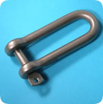 Click to View D Shackle Dimensions